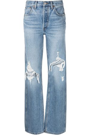 RE/DONE Women High Waisted - Loose high-waisted jeans