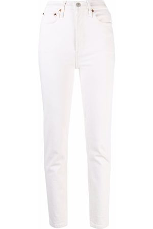 RE/DONE Women Stretch - Comfort Stretch ankle-crop jeans