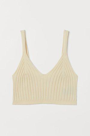 H&M Rib-knit crop top
