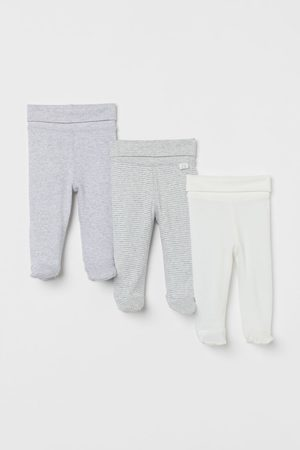 H&M 3-pack trousers - Grey