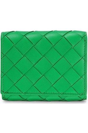 Bottega Veneta Intrecciato Trifold Leather Wallet