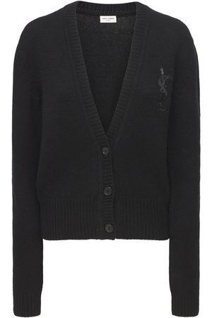 SAINT LAURENT Cashmere Knit Cardigan