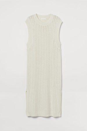 H & M Pointelle-knit dress