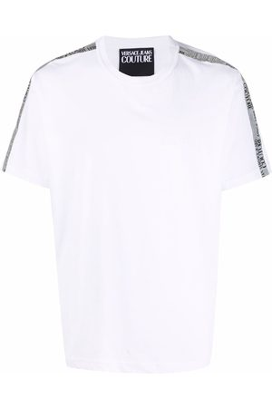 Versace Jeans Couture Embroidered logo cotton T-shirt