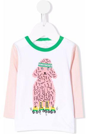 Stella McCartney Kids Poodle-print T-shirt
