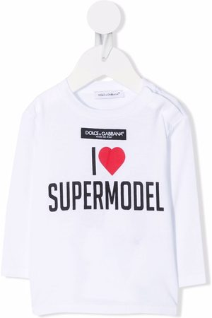 Dolce & Gabbana Kids I Love Supermodel T-shirt
