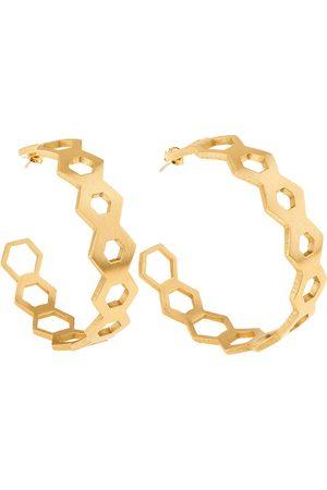 Orska Apis Honeycomb Earrings