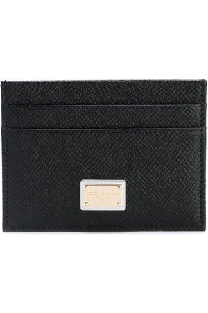 Dolce & Gabbana DOLCE E GABBANA MEN'S BI0330A100180999 LEATHER CARD HOLDER