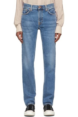 Nudie Jeans Blue Faded Gritty Jackson Jeans