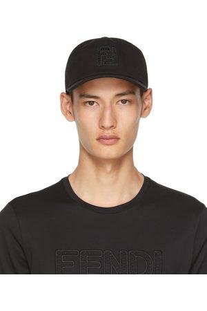 Fendi Black 'FF' Cap