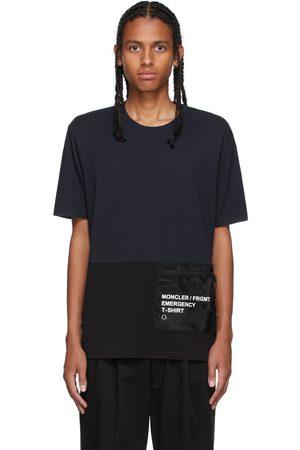 Moncler Genius 7 Moncler FRGMT Fujiwara Navy & Black Packable T-Shirt
