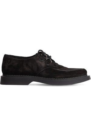 Saint Laurent Men Footwear - Teddy Suede Derby Shoes