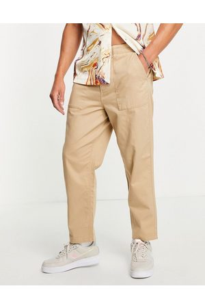 Farah Hawtin relaxed fit trousers in sand