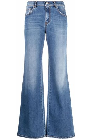 P.a.r.o.s.h. High-waisted wide-leg jeans