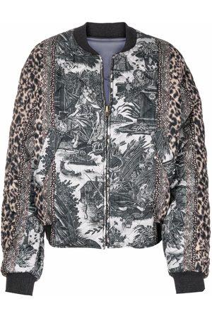 Pierre-Louis Mascia Reversible padded bomber jacket