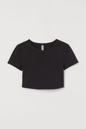 H & M Cotton cropped top