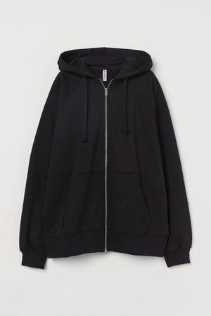 H&M Women Hoodies - Oversized zip-through hoodie