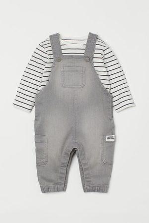 H&M 2-piece set - Grey