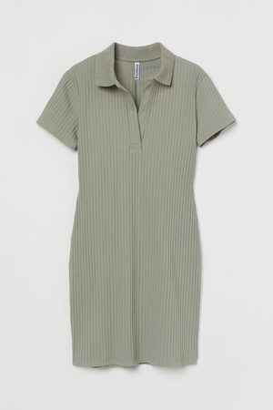 H&M Women Casual Dresses - Ribbed jersey dress