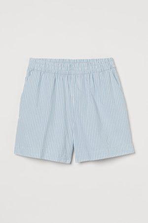 H&M Cotton pyjama shorts - Turquoise