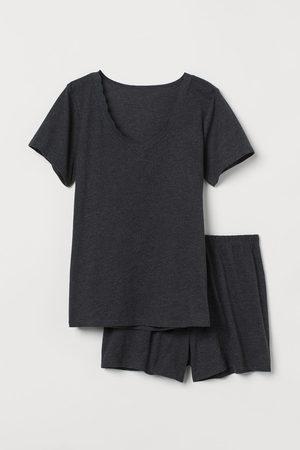 H&M Women Pyjamas - Pyjama T-shirt and shorts