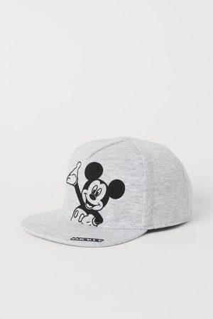 H&M Motif-detail cap - Grey