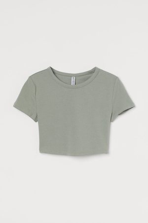 H&M Cotton cropped top