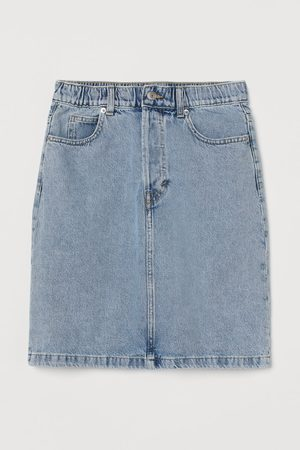 H&M Women Denim Skirts - Hight Waist Denim skirt