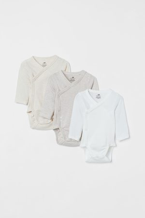 H & M 3-pack long-sleeved bodysuits