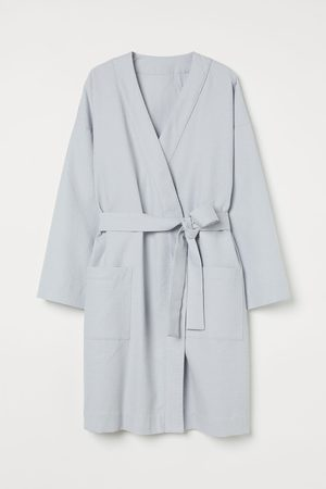 H&M Women Evenings Dresses - Waffled dressing gown