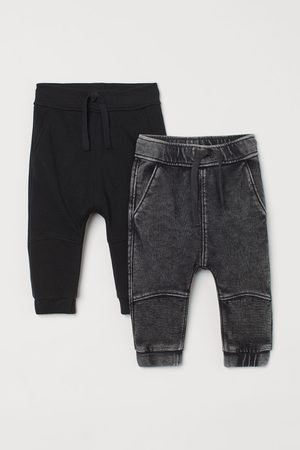 H&M Boys Joggers - 2-pack joggers - Grey
