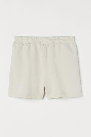 H&M Women Sweatshirts - Cotton sweatshirt shorts