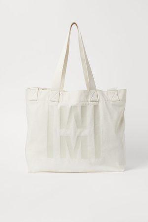 H&M Large canvas shopper