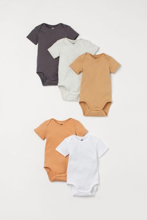 H&M Rompers - 5-pack bodysuits