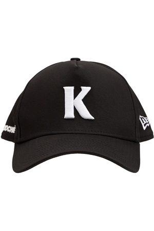 KOCHÉ Men Hats - New Era Embroidered Cotton Canvas Cap