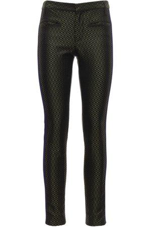 Haider Ackermann Women Slim Trousers - Jacquard Silk Skinny Pants