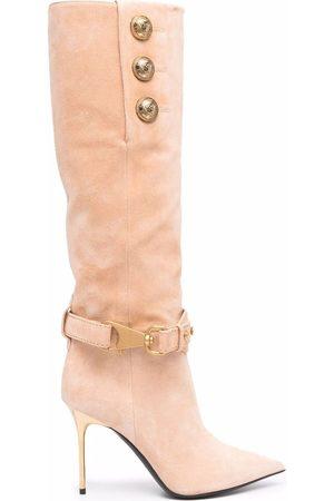 Balmain Mid-calf Robin boots
