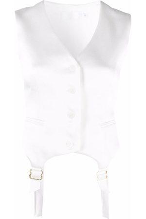Raquette Women Waistcoats - Suspender-detail waistcoat