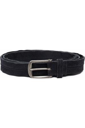 Lanvin Buckled leather belt