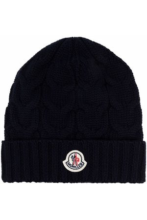 Moncler Cable-knit virgin-wool beanie