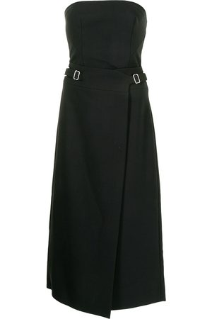 DION LEE Interlock strapless midi dress
