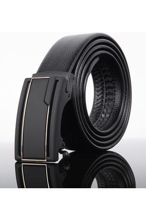 Kastner Men Black Solid Belt