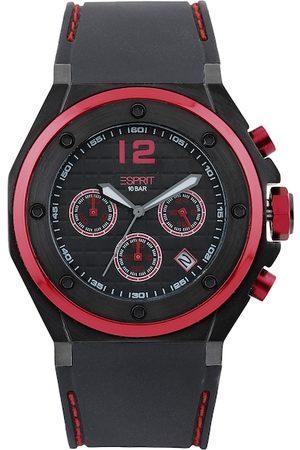 Esprit Men Black Dial Chronograph Watch