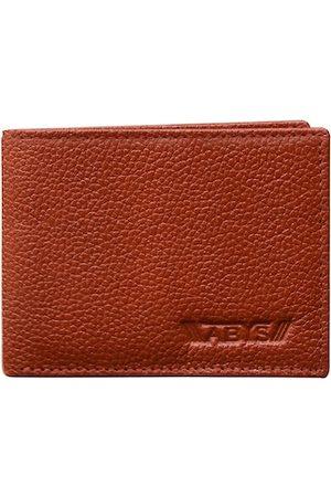 ABYS Men Brown Textured Wallets