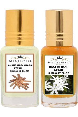 Menjewell Men Fragrances - Transparent Chandan-E-Khaas Raat Ki Rani Perfume
