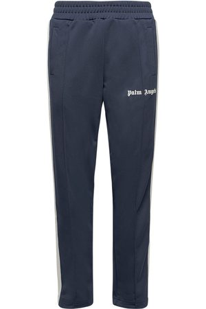 PALM ANGELS Men Trousers - Printed Tech Jersey Track Pants