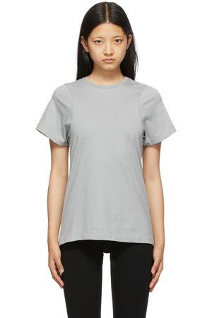 Totême Blue Curved Seam T-Shirt