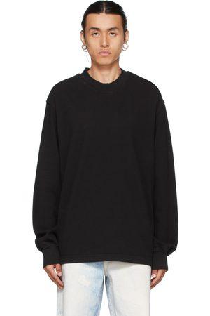 Han Kjobenhavn Black Distressed Long Sleeve T-Shirt