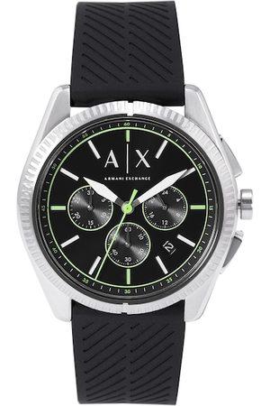 Armani Men Black Chronograph Watch AX2853