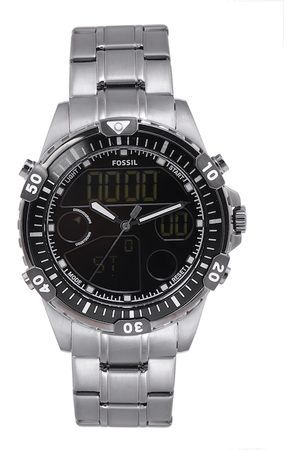 Fossil Men Black Analogue and Digital Watch FS5782